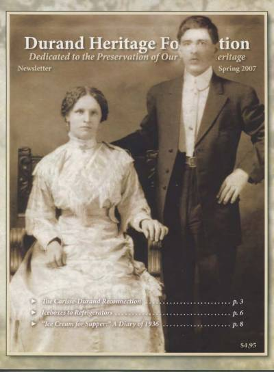 durand, family tree, canada, geneology, heritage, durand heritage foundation, newsletter, french canadian, membership, john carisse, alyssa schreder, charles durand, paul durand