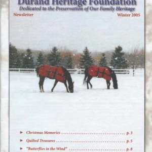 durand, family tree, canada, geneology, heritage, durand heritage foundation, newsletter, french canadian, membership,